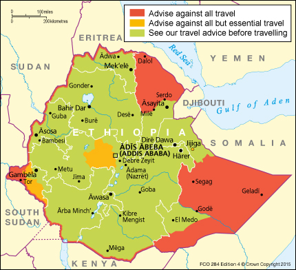 Uk Warns Its Citizens About Traveling To Ethiopia